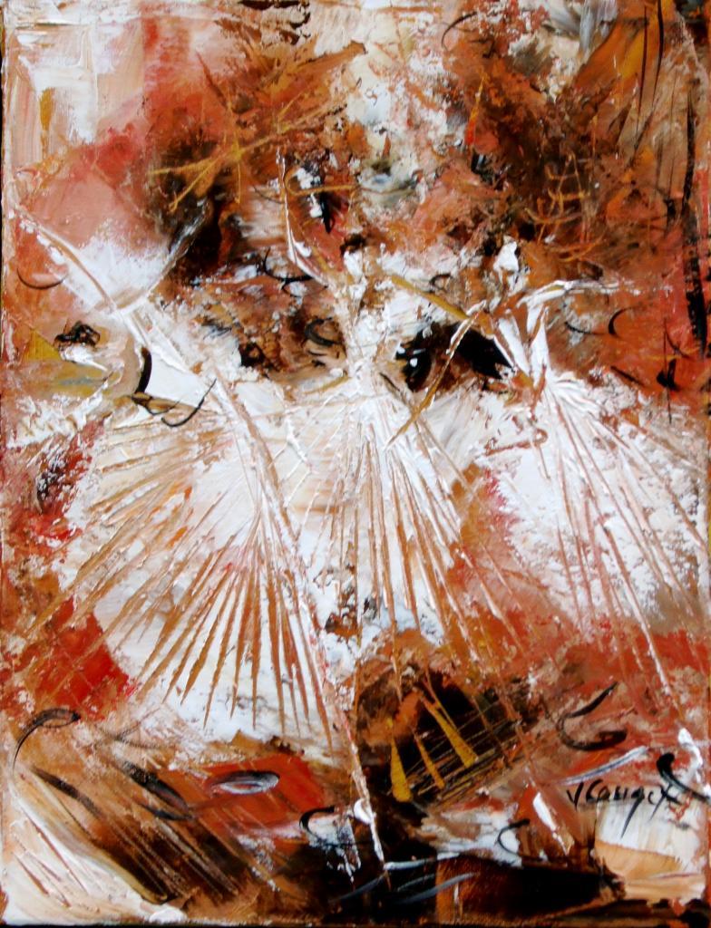 Danseuses ocre