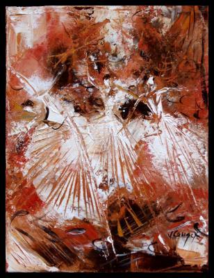 Danseuse ocre orange 6
